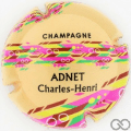 Champagne capsule 1.e Fond orange pâle