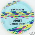 Champagne capsule 1.d Fond bleu pâle
