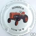 Champagne capsule 39.d Tracteur Someca