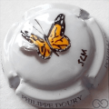 Champagne capsule  PALM, papillon orange