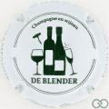 Champagne capsule 141.b Blanc et vert foncé