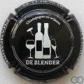 Champagne capsule 115 Noir et blanc