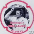 Champagne capsule 173 Hommage à Niki Lauda