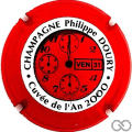Champagne capsule 13.a Rouge et blanc