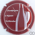Champagne capsule 41.d Fond rouge