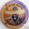 Champagne capsule  Le p'tit Baltar, 25 ans