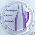 Champagne capsule 41.h Blanc et violet