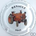 Champagne capsule 39.b Tracteur Renault