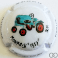 Champagne capsule A36 PALM, tracteur Monarch