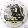 Champagne capsule 95 1ère Femme pilote de F1