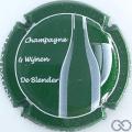 Champagne capsule 41.c Fond vert