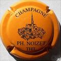 Champagne capsule 20.c Orange et noir