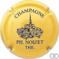 Champagne capsule 20.e Orange pâle et noir