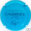 Champagne capsule 7.b Bleu et noir