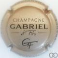 Champagne capsule 7.a Gris pâle et noir