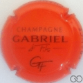 Champagne capsule 7.d Orange et noir