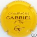 Champagne capsule 7 Jaune et noir