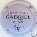 Champagne capsule 7.c Violet pâle et noir
