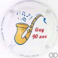 Champagne capsule  Guy 90 ans