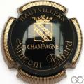 Champagne capsule 7 Noir et or, striée