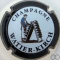 Champagne capsule 2 Contour noir, fond pastel