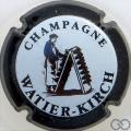 Champagne capsule 6 Contour noir, fond blanc