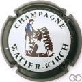Champagne capsule 5.a Contour vert-noir