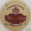 Champagne capsule A1 Crème et marron