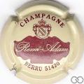 Champagne capsule A1.a Crème et bordeaux