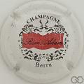 Champagne capsule 2 Blanc, rouge et noir