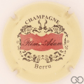 Champagne capsule 2.a Crème, rouge et or