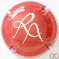 Champagne capsule 9.a Rouge et crème