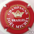 Champagne capsule 8 Rouge, or et blanc