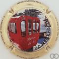 Champagne capsule 53.b La Clusaz 2019, doré à l'or fin