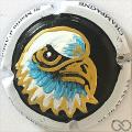 Champagne capsule  PALM,  tête d'aigle