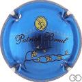 Champagne capsule 14.d Bleu vif métallisé