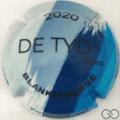 Champagne capsule A39 Fond bleu, 2020