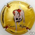 Champagne capsule 1 Or, inscription en bas