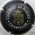 Champagne capsule 3 Noir, or et blanc, avec couronne