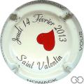Champagne capsule 54.j St Valentin 2013