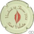 Champagne capsule 56.c Saint Valentin 2014