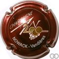 Champagne capsule 615 An 2000, n° 615, bordeaux, Vandières