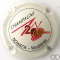 Champagne capsule 613 An 2000, n°613, blanc, Vandières