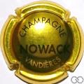 Champagne capsule 1.a Or et noir