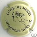 Champagne capsule 34 Crème et noir