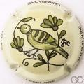 Champagne capsule  PALM Oiseau