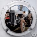 Champagne capsule A16.c Tracteur gris