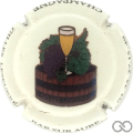 Champagne capsule A1.a Fond crème pâle