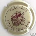 Champagne capsule 5 Crème et bordeaux