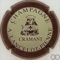 Champagne capsule 2 Contour marron mat